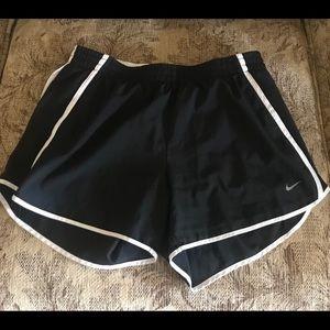 Gently worn Medium Nike Dri Fit athletic shorts